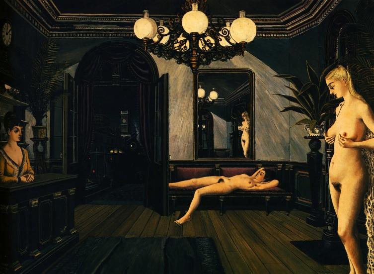 Delvaux Paul - Night-train - 1947