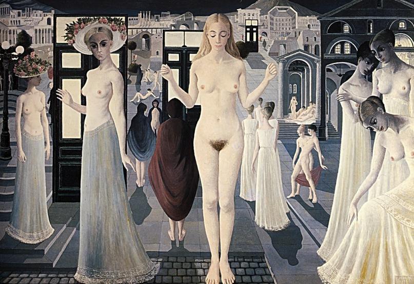 Delvaux Paul - Pompei - 1970
